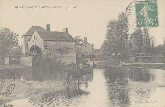 Burie moulin